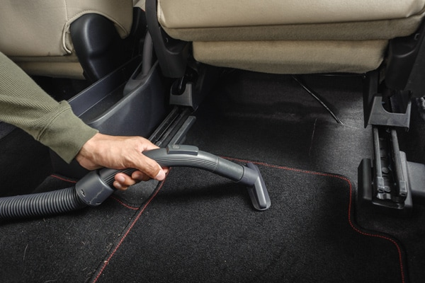Vehicle Carpet Cleaning